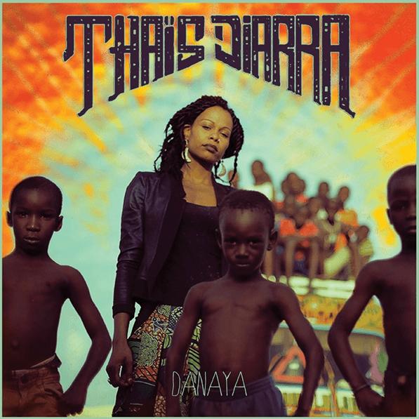 Album cover for Thaïs Diarra's second album 'Danaya'
