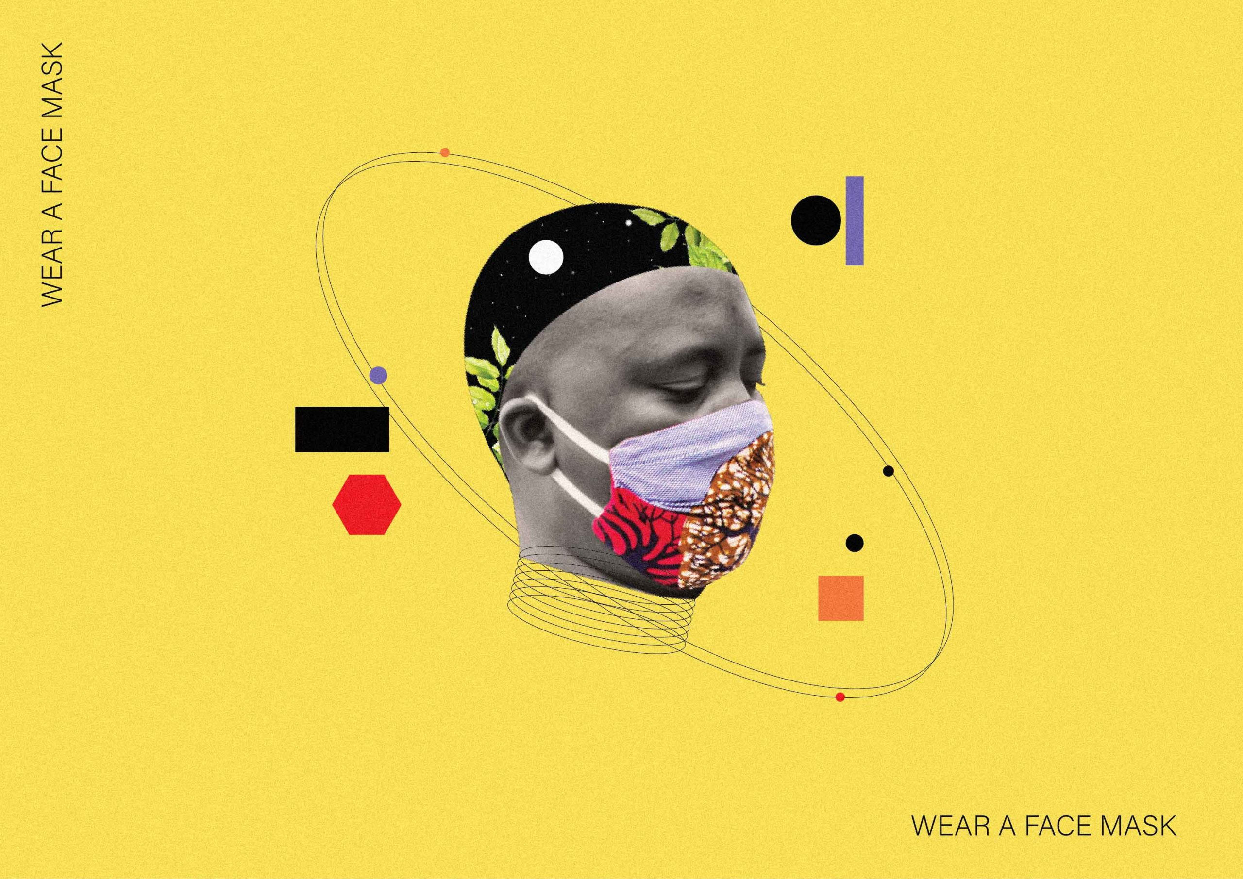 Wearing a Face mask reduces your risk of exposure to Covid-19 enormously